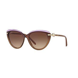 Cat Eye Sunglasses BV8211B 55