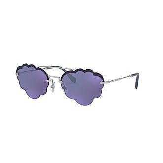 Irregular Sunglasses MU 57US 58