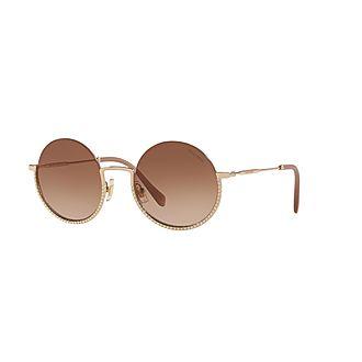 Round Sunglasses 0MU 69US