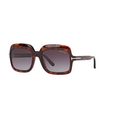 Wallis Havana Sunglasses, ${color}