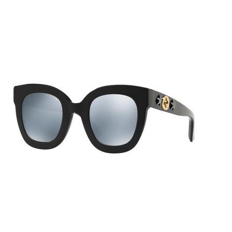 Oval Sunglasses GG0208S, ${color}