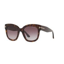 Havana Square Sunglasses FT0613