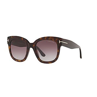 Havana Square Sunglasses FT0613