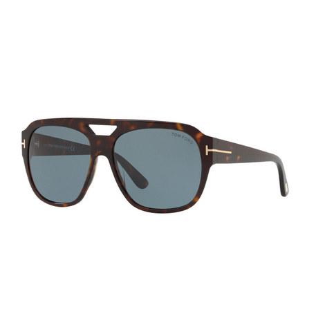 Havana Square Sunglasses FT0613, ${color}
