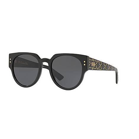 LadyDior Oval Sunglasses, ${color}