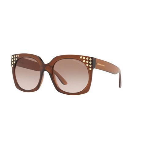 Crystal Destin Square Sunglasses, ${color}