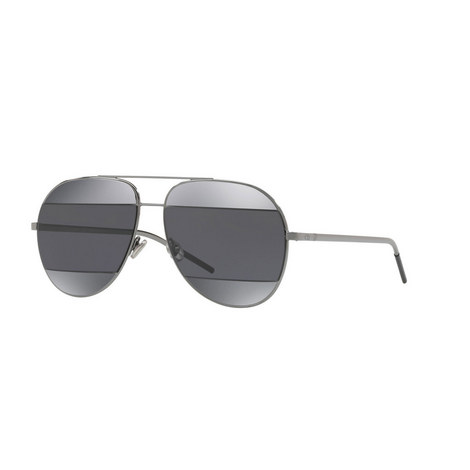 Gunmetal Aviator Sunglasses, ${color}