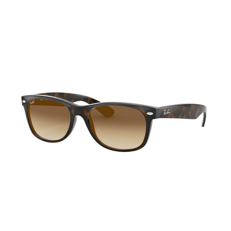 New Havana Wayfarer Square Sunglasses, ${color}