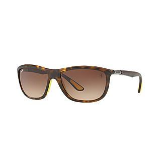 Havana Square Sunglasses 0RB8351M