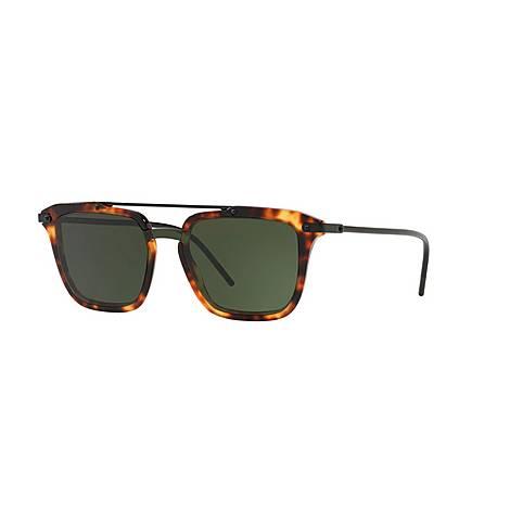 Havana Square Sunglasses 0DG4327, ${color}