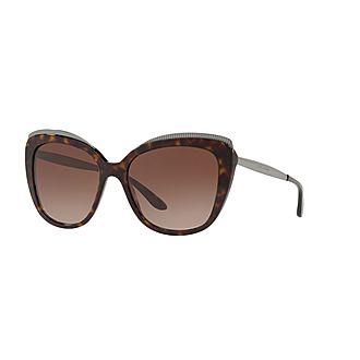 Havana Butterfly Sunglasses 0DG4332