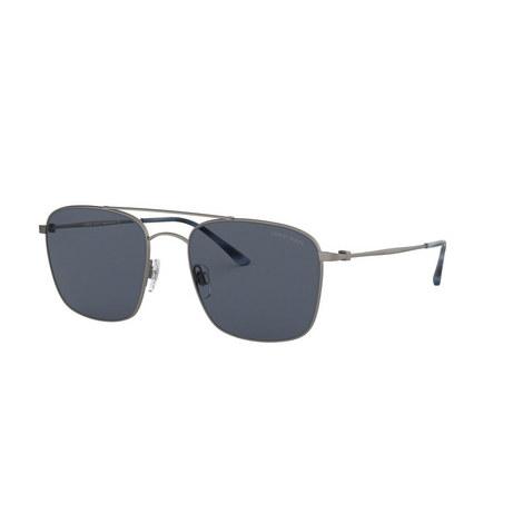Matte Square Sunglasses 0AR6080, ${color}