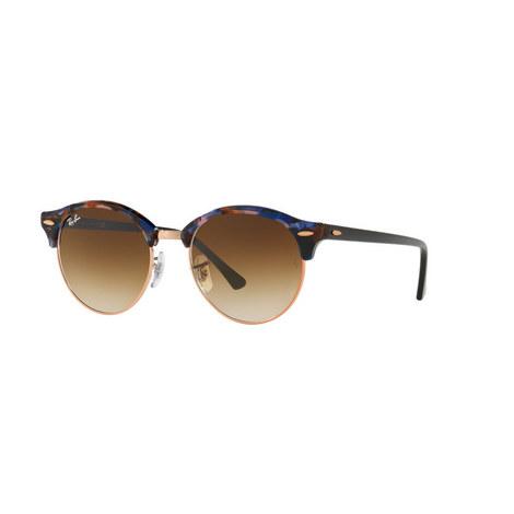 Havana Clubround Phantos Sunglasses, ${color}