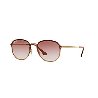 Hexagonal Square Sunglasses
