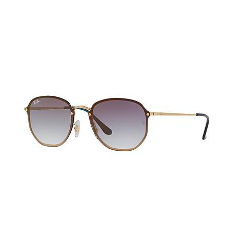 Hexagonal Square Sunglasses, ${color}