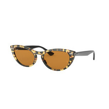 Havana Cat Eye Sunglasses 0RB4314N