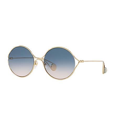 Round Sunglasses GG0253S, ${color}