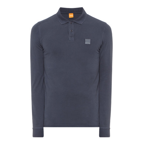 Phlash Long Sleeve Polo Shirt, ${color}