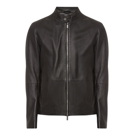 Nevilo Leather Jacket, ${color}