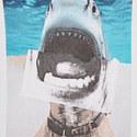 Trayno Shark Print T-Shirt, ${color}