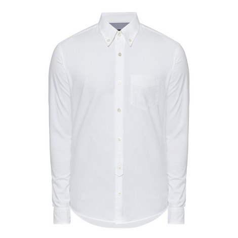 Rubens Slim Fit Oxford Shirt, ${color}