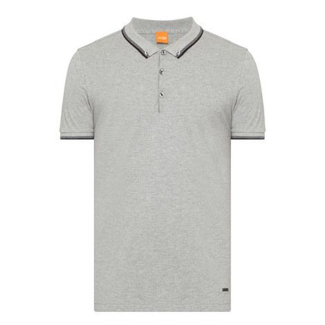 Pejo Stripe Trim Polo Shirt, ${color}