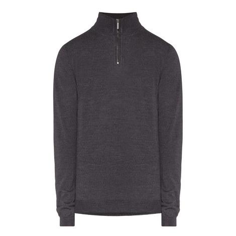 Banello Half Zip Sweater, ${color}