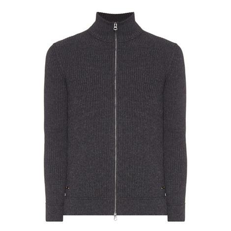 Kasnerm Full Zip Sweater, ${color}