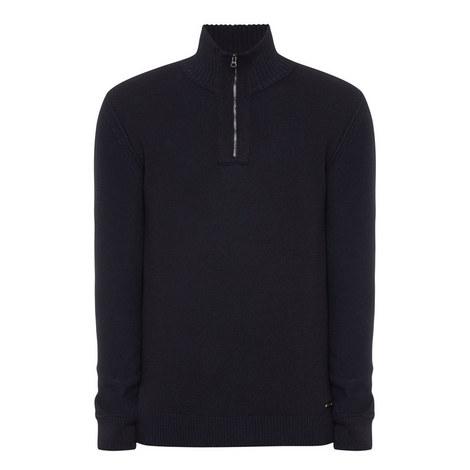 Kwemare Half Zip Sweater, ${color}