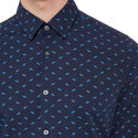 Lukas Regular Fit Patterned Shirt, ${color}