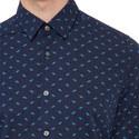 Lukas Regular Fit Patterned Shirt, ${color}