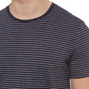 Tessler Crew Neck Stripe T-Shirt, ${color}