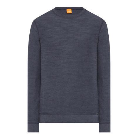 Reversible Crew Neck Sweatshirt, ${color}