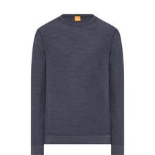Reversible Crew Neck Sweatshirt