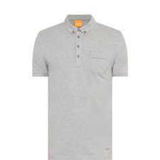 Button-Down Polo Shirt