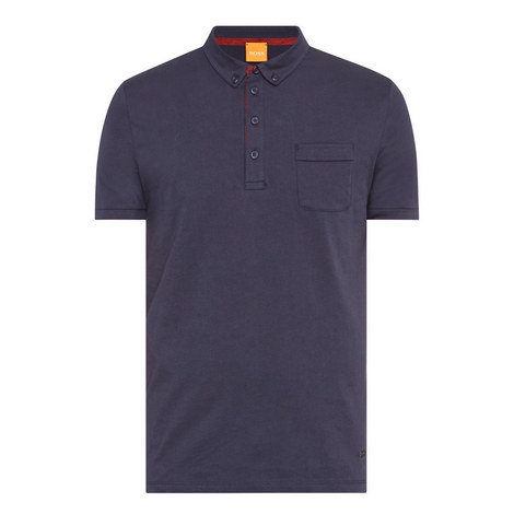 Button-Down Polo Shirt, ${color}
