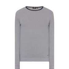 Ivan Crew Neck Stripe Sweater