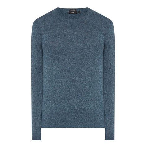 Ives Crew Neck Mélange Sweater, ${color}