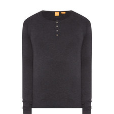 Koastly Long-Sleeved Henley Top