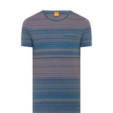 Tedryk Multi Stripe T-Shirt