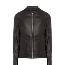 Nartimo Leather Biker Jacket