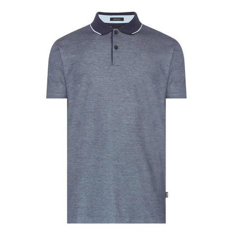 Tipped Polo T-Shirt, ${color}