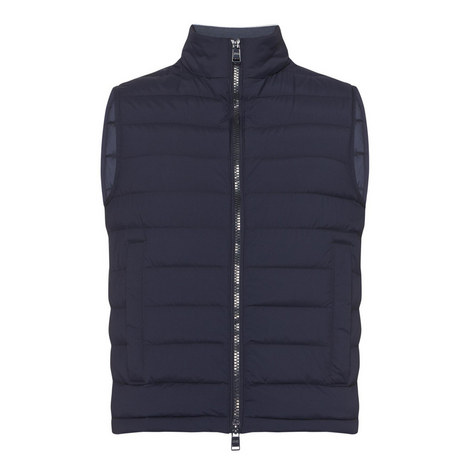 Dawson Quilted Gilet , ${color}