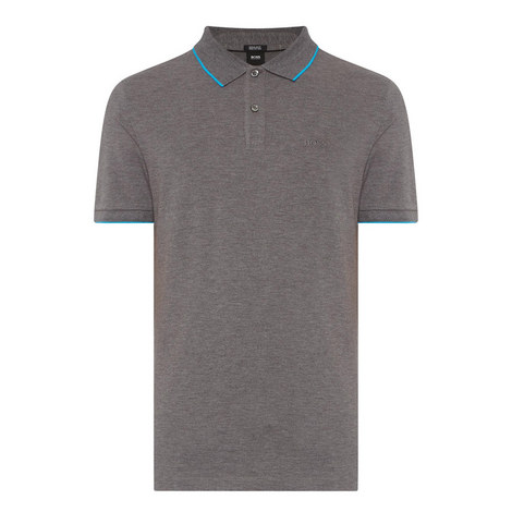 Parlay Contrast Trim Polo Shirt, ${color}