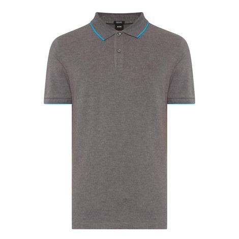 Parlay Contrast Trim Polo Shirt, ${color}