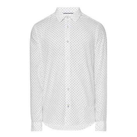 Lance Italian Dot Print Shirt, ${color}