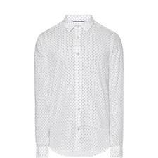 Lance Italian Dot Print Shirt
