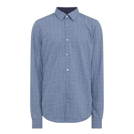 Lance Check Print Shirt, ${color}