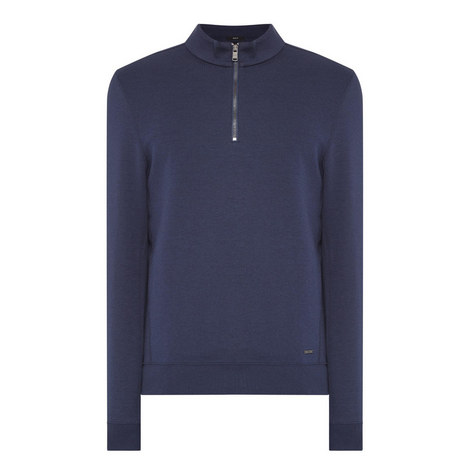 Siegal Half-Zip Sweatshirt, ${color}