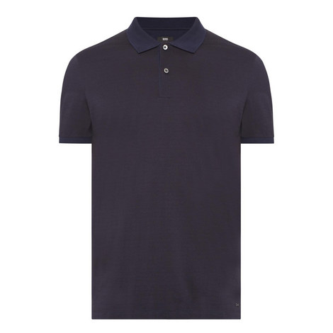 Phillipson Textured Polo Shirt, ${color}